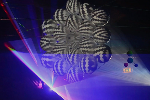 Fruit of Life – Videomapping sculpture