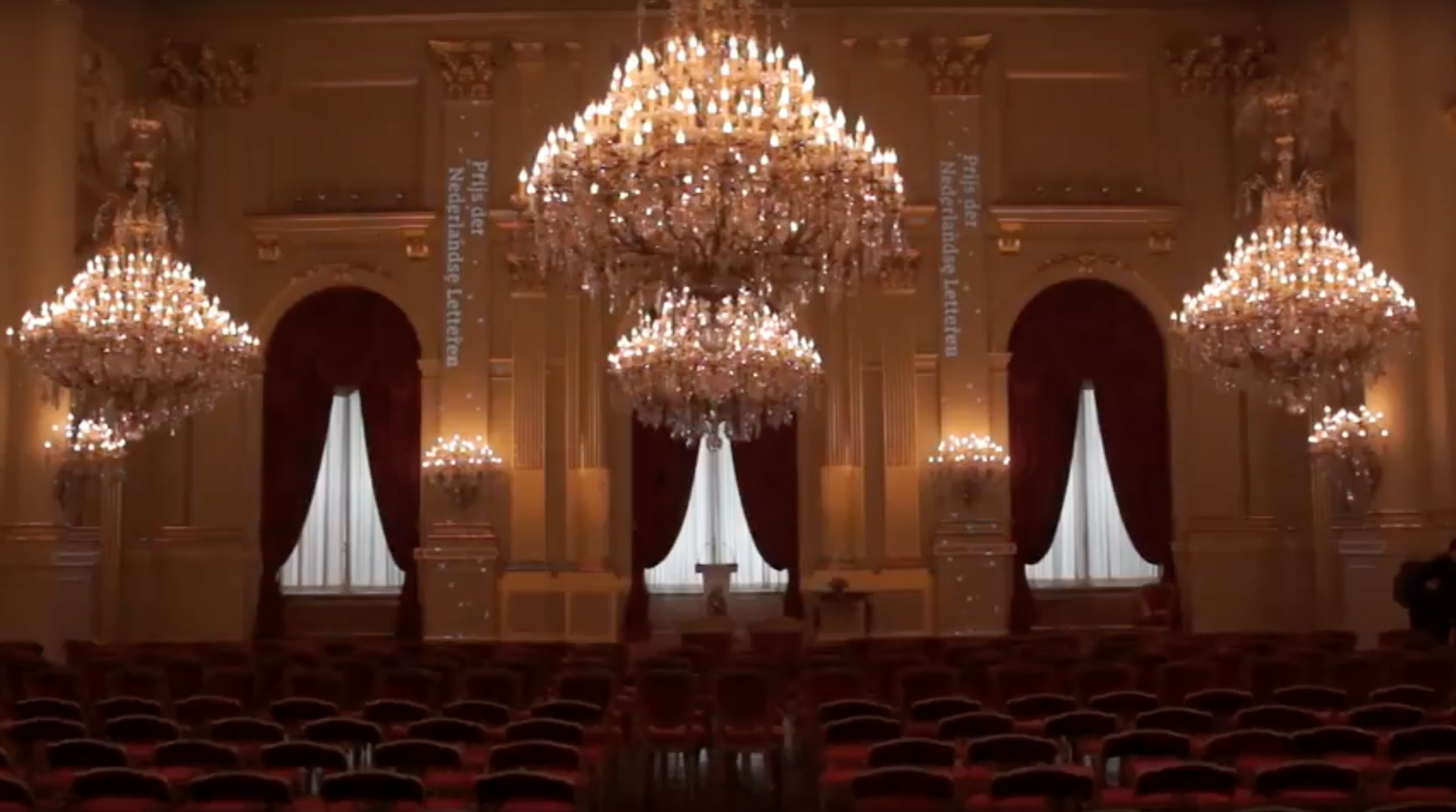 Prijs der Nederlandse letteren – Royal Palace Brussels