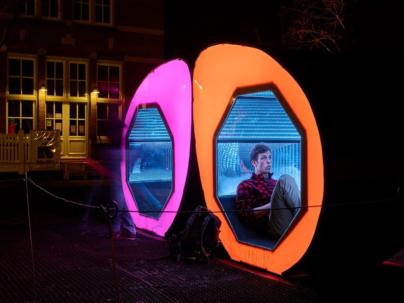 Amsterdam Light Festival – Infinite support (Lightform collective)