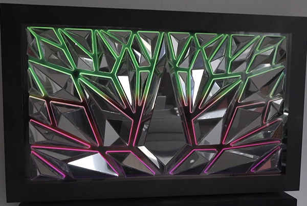 Refract – Mirror display sculpture